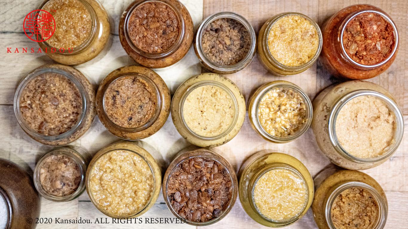 天然味噌や天然酢など無農薬無添加の天然調味料